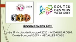 RECOMPENSES 2021