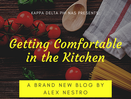 Getting Comfortable in your Kitchen