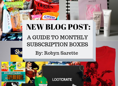 A Guide to Monthly Subscription Boxes