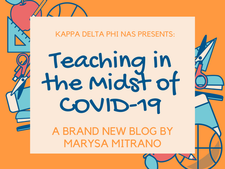Teaching in the Midst of COVID-19