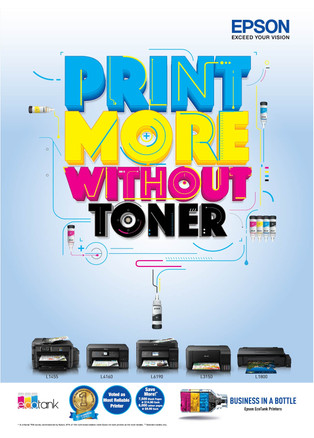 Epson – Print More Without Toner
