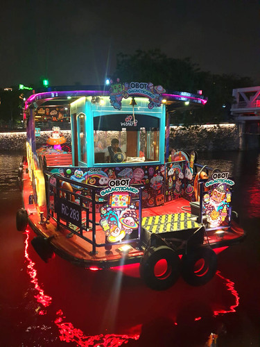 Water B x OBOT GALATICANDY River Cruise