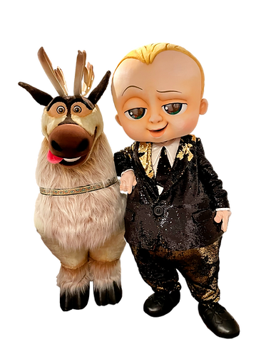 Boss Baby Sven Animation Dekoration Shows Kindergeburstag