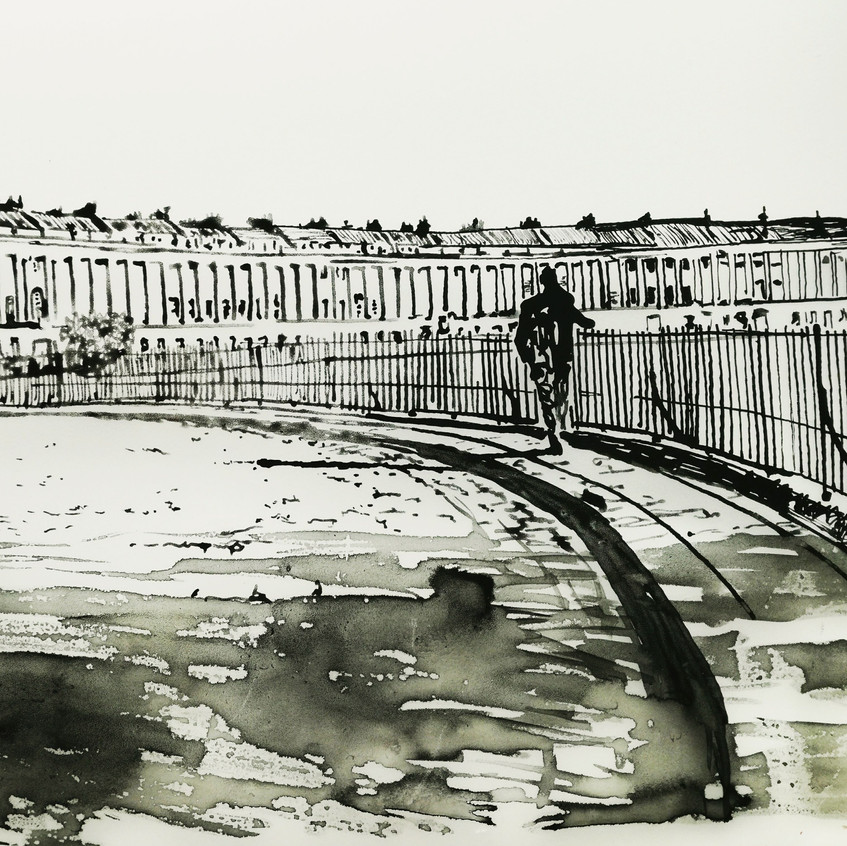 Amy Hutchings - Bath Royal Crescent