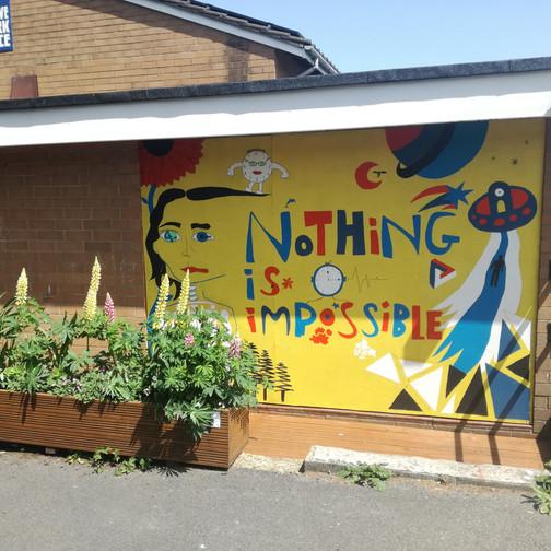 Amy Hutchings - COG Final mural