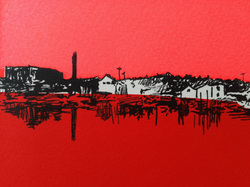 Amy Hutchings - (Detail) Bristol Bright Harbour