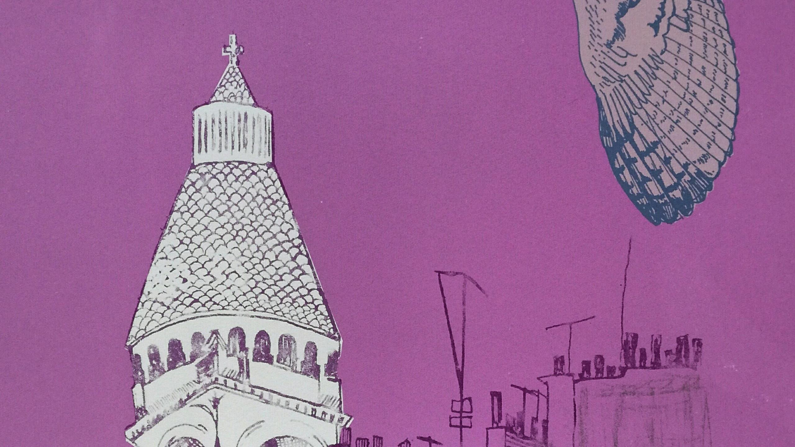 Amy Hutchings - Barn Owl over Paris