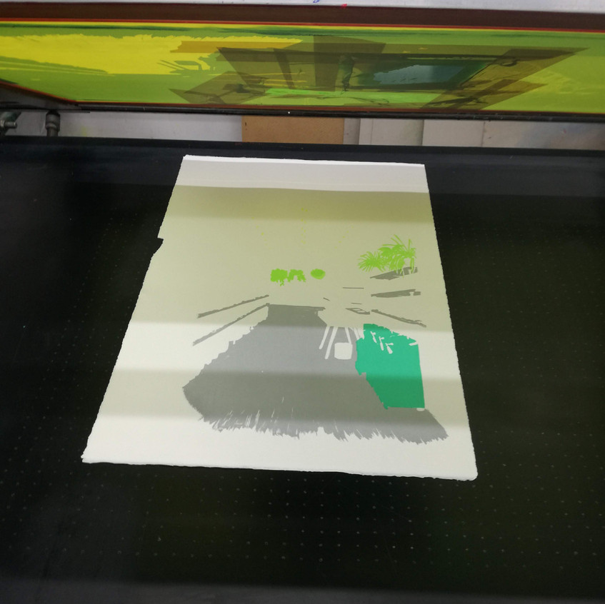 Amy Hutchings - Print in Progress