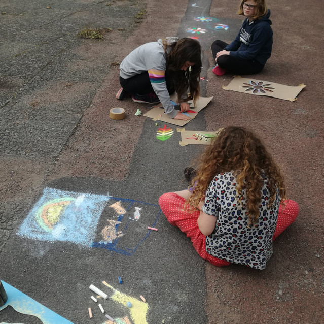 Amy Hutchings - Chalk and Creativity