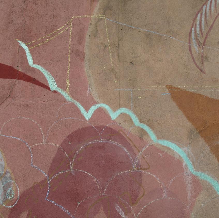 Amy Hutchings - treeline mural