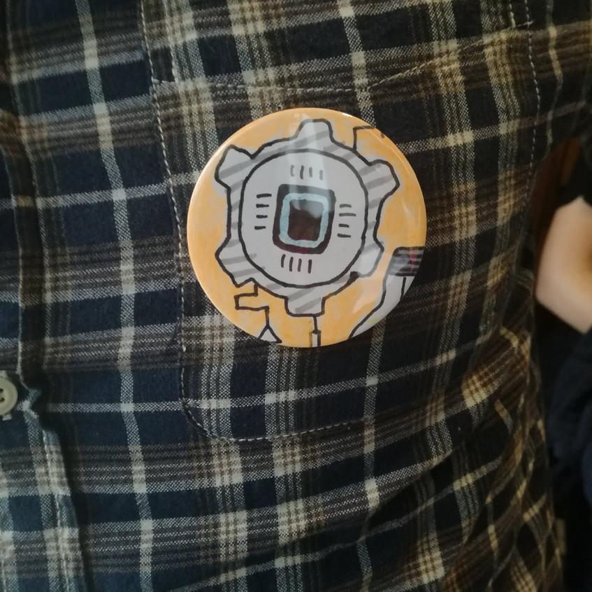 Amy Hutchings - Badge make robotics