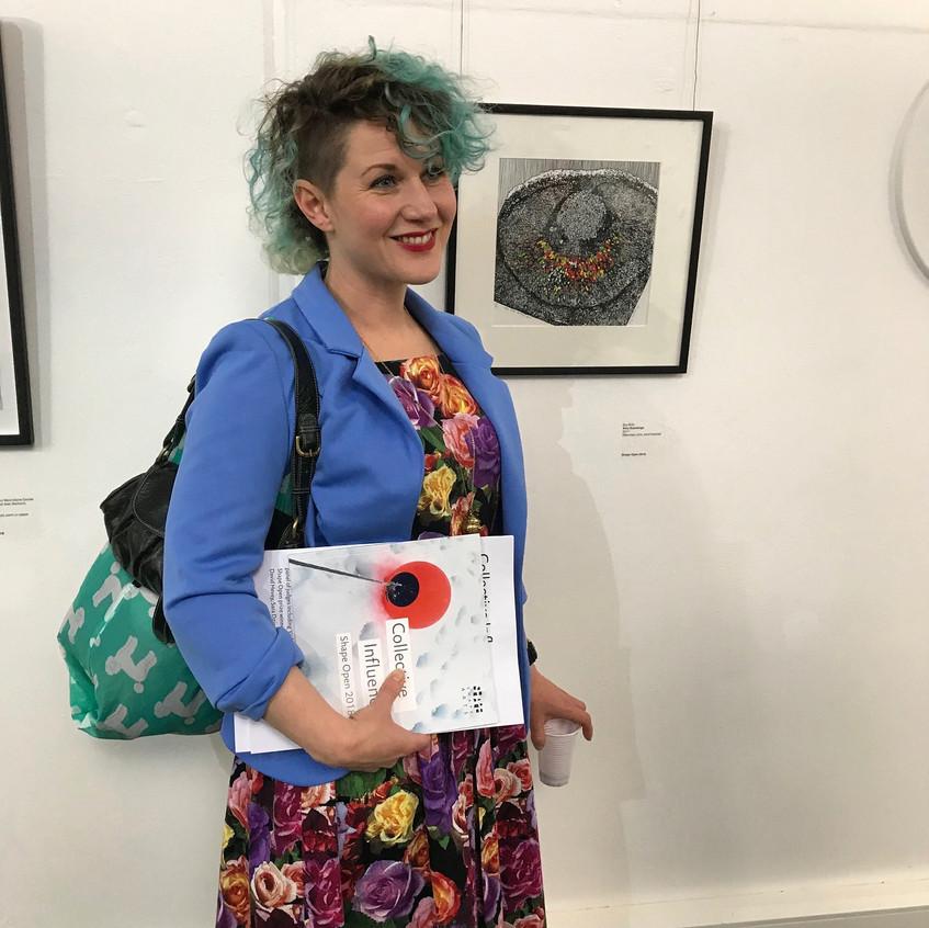 Amy Hutchings - Eye Bulb at P