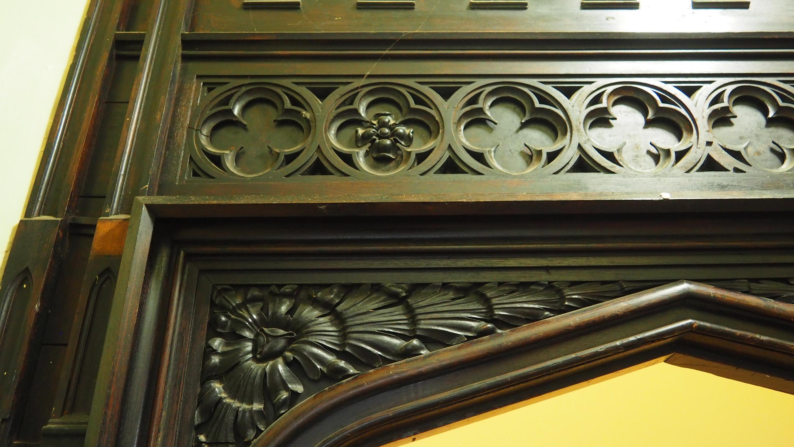 AMy Hutchings - Doorframe detail