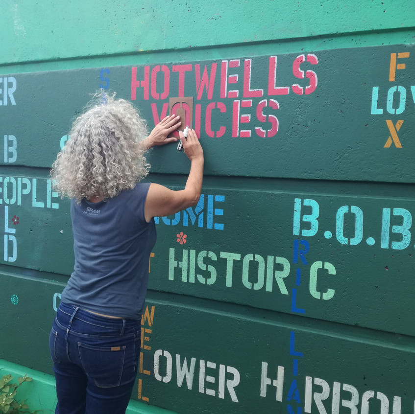 Amy Hutchings - Paint Hotwells