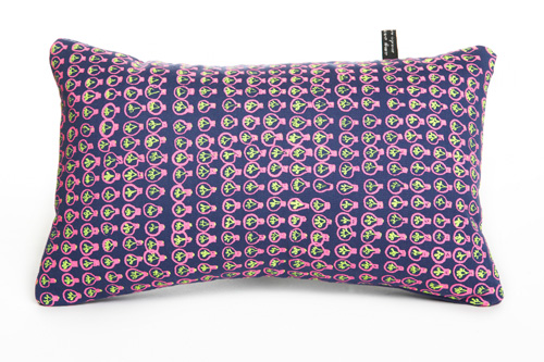 bright idea pink cushion