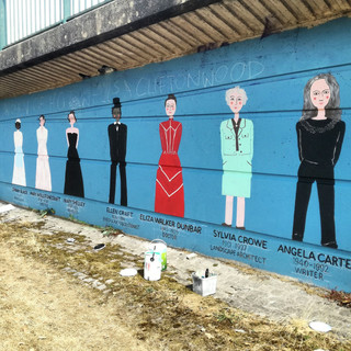 Amy Hutchings - The Women of Hotwells and Cliftonwood Mural