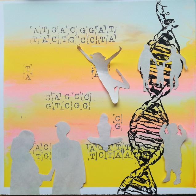 Amy Hutchings - Print Paper Stencil
