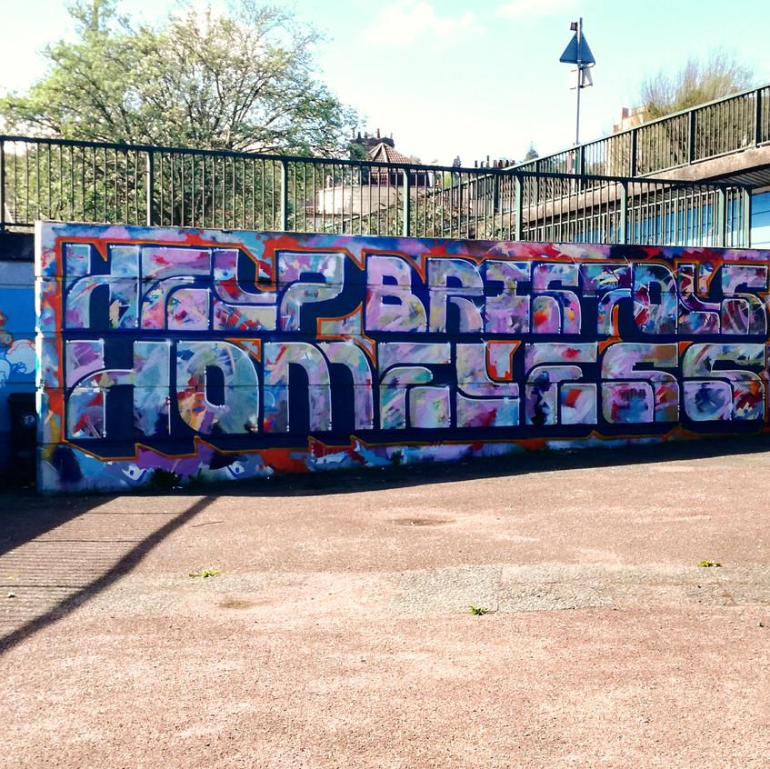 Amy Hutchings - Luke and Graham's mural