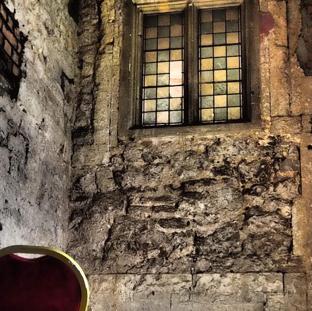 Amy Hutchings - Old internal Window