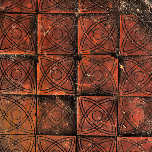 Amy Hutchings - Terracotta tiles