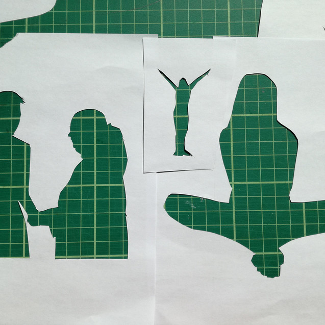 Amy Hutchings - Silhouette Stencils