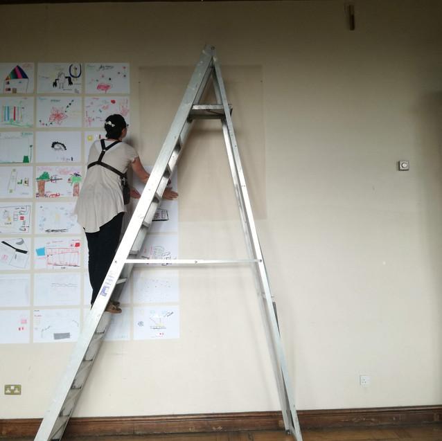Amy Hutchings - Art install