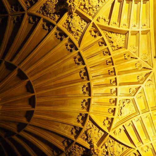 Amy Hutchings - Fan Ceiling stone