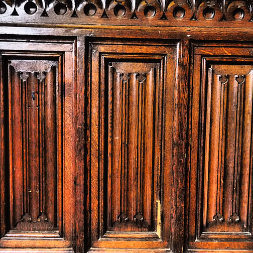 Amy Hutchings - Panelled wall