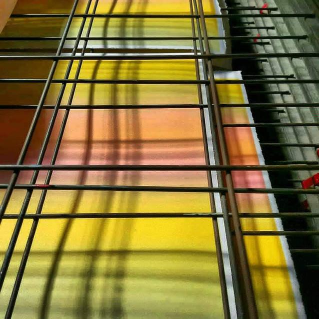 Amy Hutchings - Print Rack work
