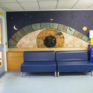 Amy Hutchings - Old B.E.H Eye Mural