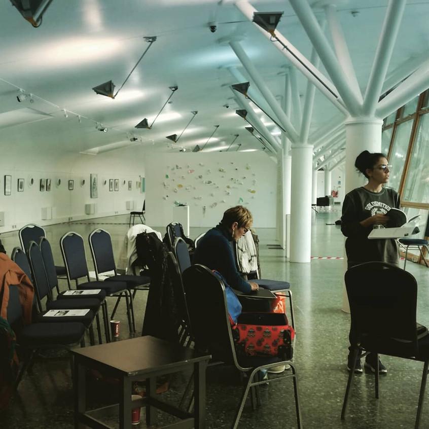 Amy Hutchings - Development Session at Art Pavillion