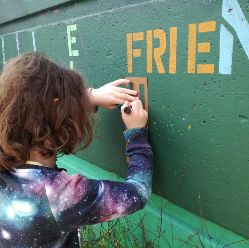 Amy Hutchings - Children stencil