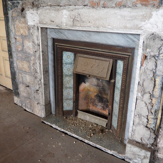 Amy Hutching's Emily's fireplace