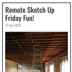 Sketch Up Remotely . Hey and happy Frida