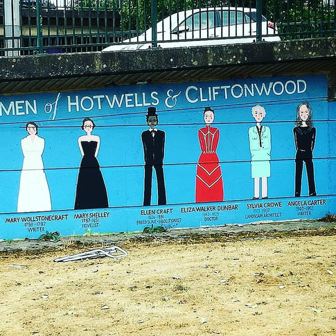 Amy Hutchings - The Women of Hotwells and Cliftonwood