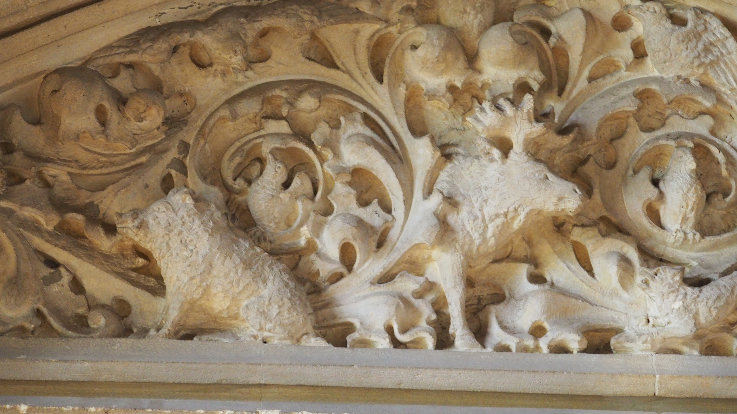 Amy Hutchings - Detail of Carving