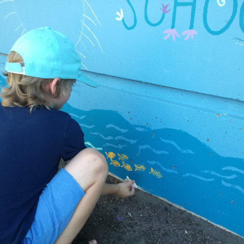 Amy Hutchings - School of fish