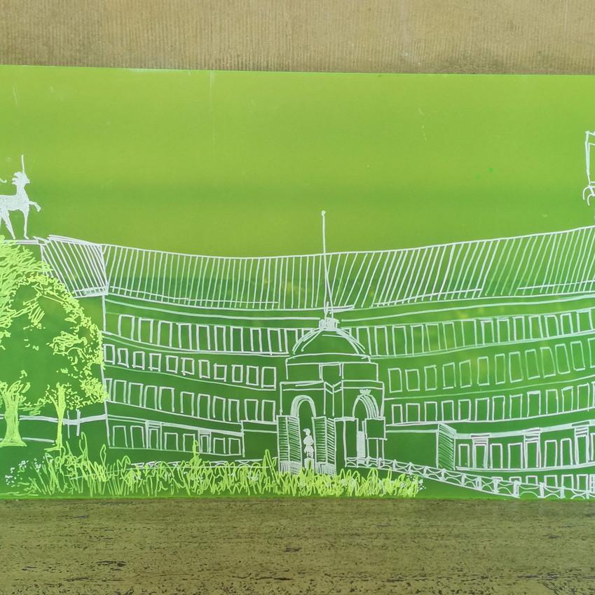 Amy Hutchings - Neon City Hall