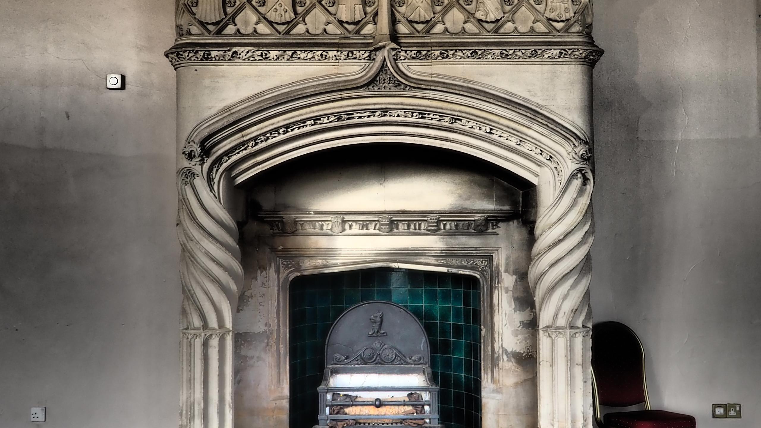 Amy Hutchings - Fireplace