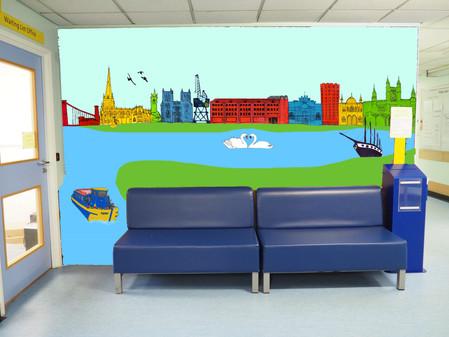 Green Light for Bristol Eye Hospital's new Mural
