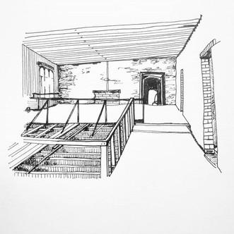 Sketch Up Remotely . Ashton Court Mansio