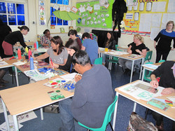 INSET day at a London primary school