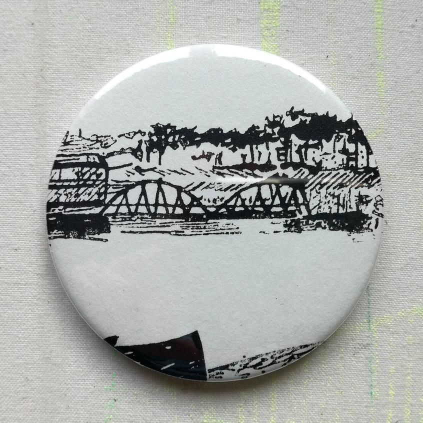 Amy Hutchings - Mirror Turquoise Bridge