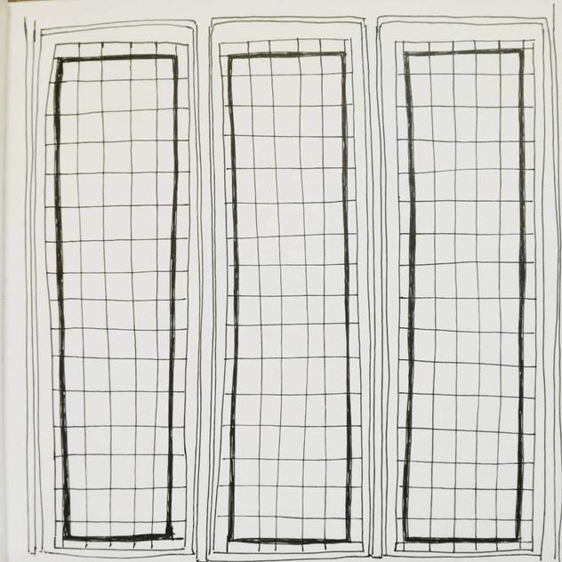 Amy Hutchings - Great Hall Window