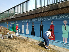 Amy Hutchings -  HCCA mural