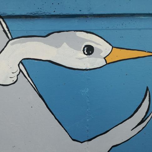 Amy hutchings - Take off, heron!