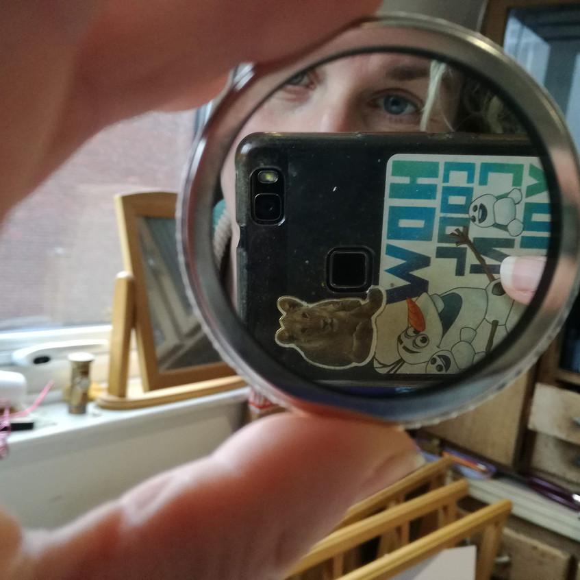 Amy Hutchings - Reflection