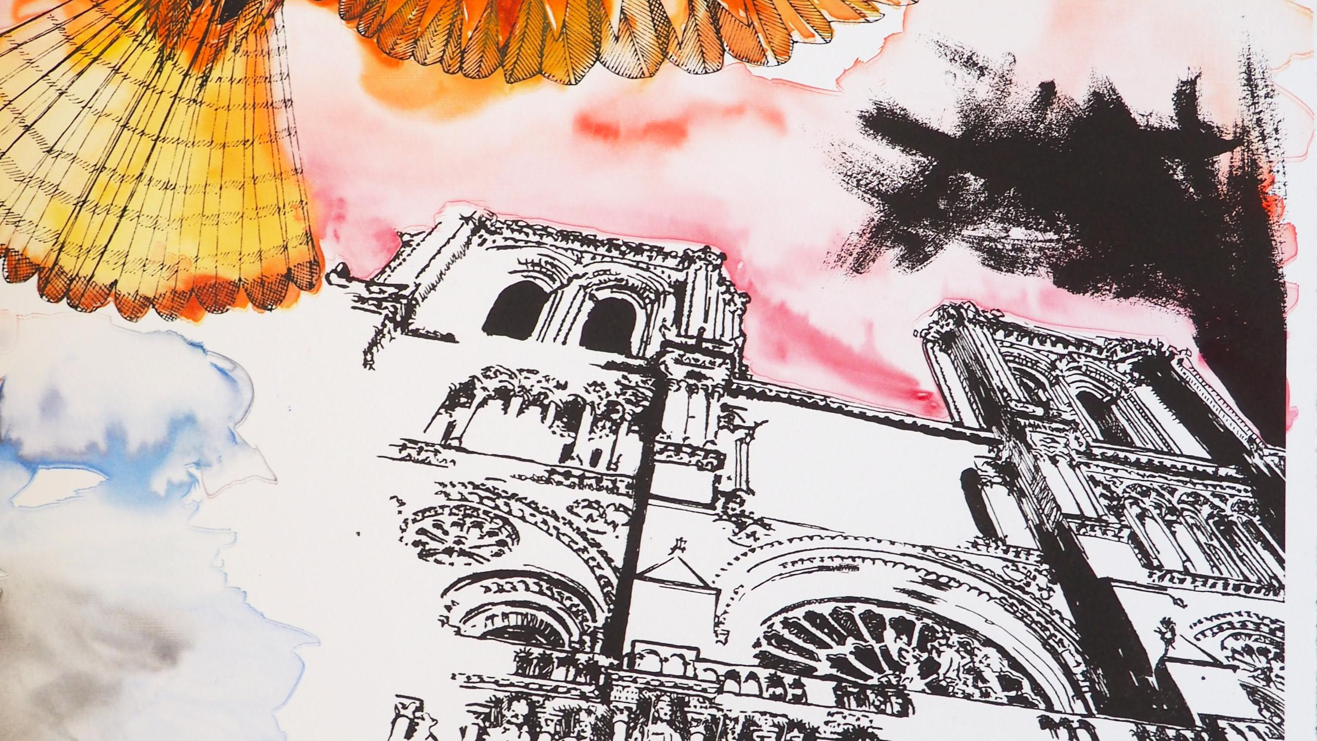 Amy Hutchings -Kestrel Of Notre Dame