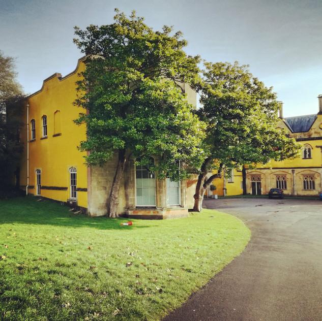 Amy Hutchings - Ashton Court mansion