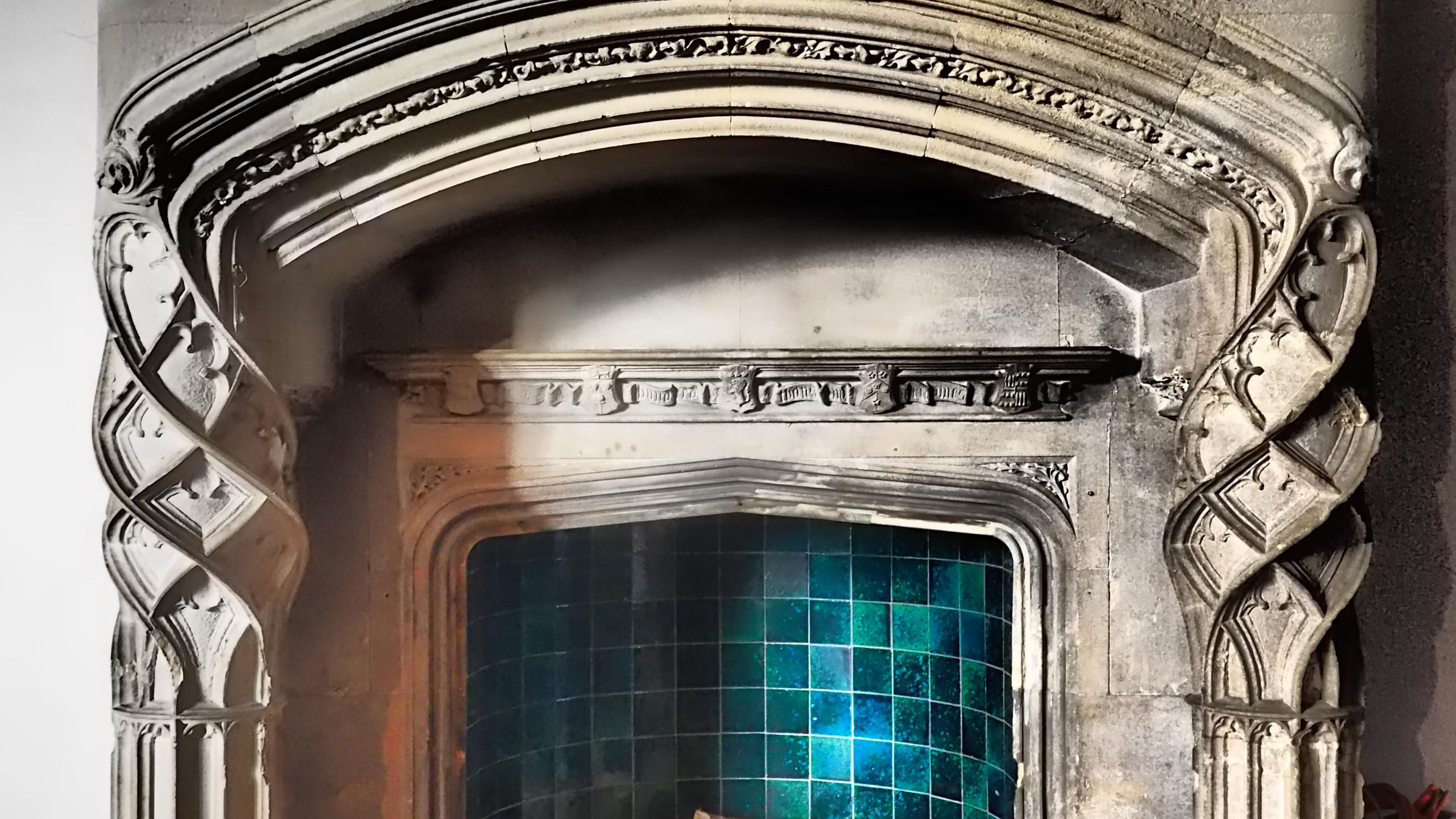 Amy Hutchings - Music Room Fireplace